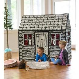 Log Cabin Play Tent