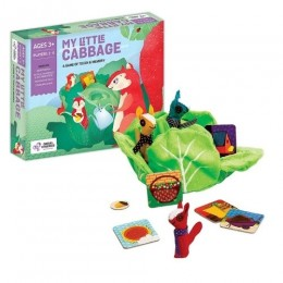My Little Cabbage - Memory and Tactile Game with Finger Puppets