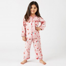 Christmas unicorn pajama set
