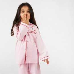 Happy unicorn pajama set