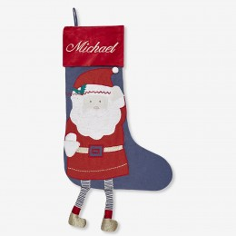 Dangly Santa Stocking