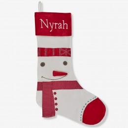 Dashing Snowman Stocking