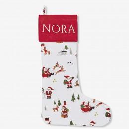 Dear Santa Printed Stocking