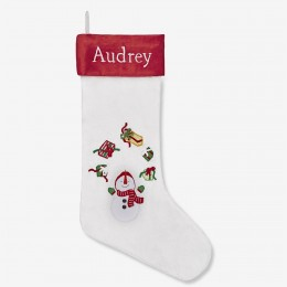 Juggling Snowman Stocking (winter joys collection)