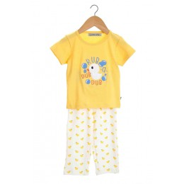 Embroidered Ducky Infant Nightsuit