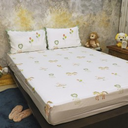 Bed Set- I Am Going To The Circus - Peach