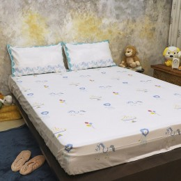 Bed Set- I Am Going To The Circus - Teal