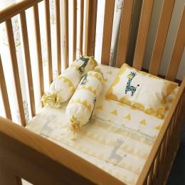 Cot Bedding Set- My Best Friend the Giraffe - Yellow