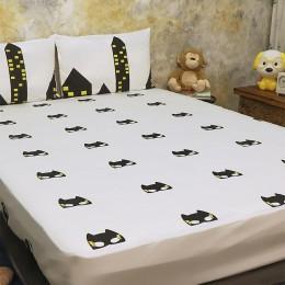 Bed Set - Superbaby Flies Over Town