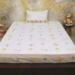 Bed Set- I Am Going To The Circus - Yellow