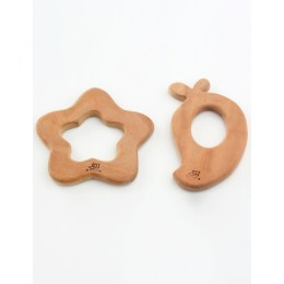 Wooden Teethers - Mango and Star