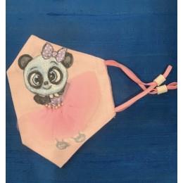 Panda with Tutu Mask