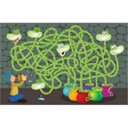 Moody Snakes - 40 Piece Jigsaw Puzzle