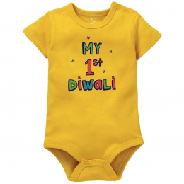 My 1st Diwali - Yellow