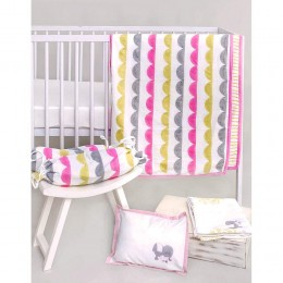 Cot Bedding Set- The Adventures of Mamma & Little Ollie