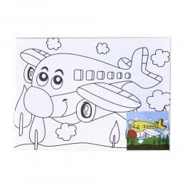 Plane Jane Canvas