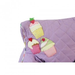 Cupcakes Quilted- BeanChair Cover (Small)