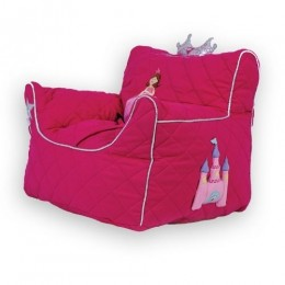Princess Quilted -BeanChair Cover (Small)