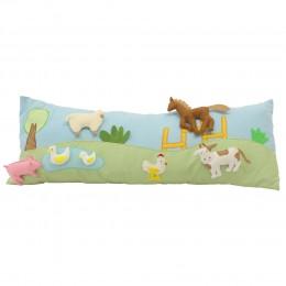 Farm Animal Long Cushion Cover With Pop-Ups