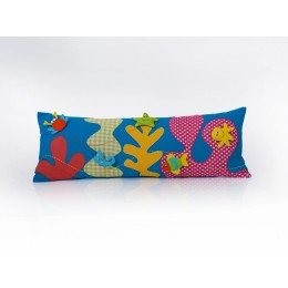 Under The Sea Long Cushion Cover With Pop-Ups