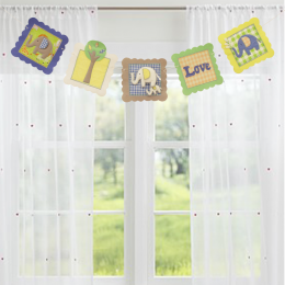 Elephant - Multi Colour Bunting
