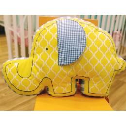 Elephant Shaped Cushion