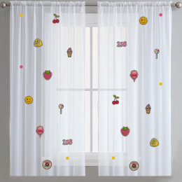 Little Treats -Sheer Curtain