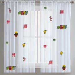 Teen Spirit -Sheer Curtains