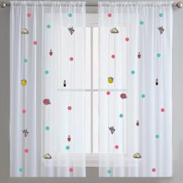 Too Cute -Sheer Curtains