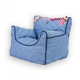 Movie Time Quilted - BeanChair Cover (Small)