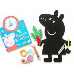 Chalkboard + WhiteBoard -Peppa Pig