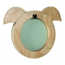Snowball Piggy Mirror
