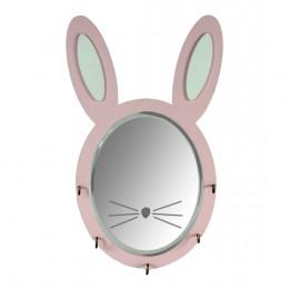 Snowball Rabbit Mirror