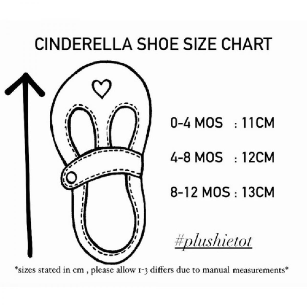 Cinderella Shoes & Headband - Yellow White