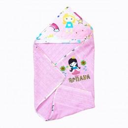 Hooded Towel- Pink Princess