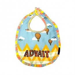 Bib & Bottle Cover Set - Hot Air Balloon