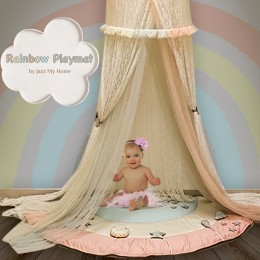 Rainbow Playmat