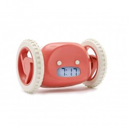 Run & Roll Clock (Pink)