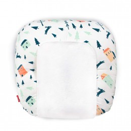 Snooze Baby Lounger (with Waterproof Protection) - Rabbit Hole