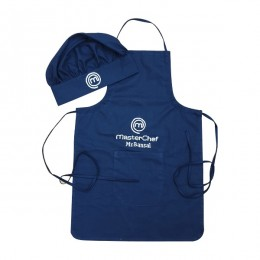 Blue Master Cook Apron Set