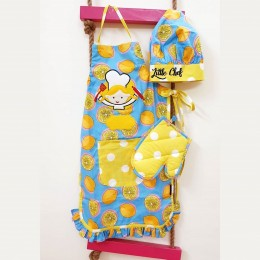 Lemon Premium Apron Set