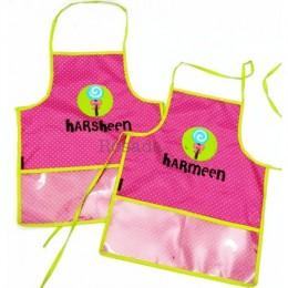 Pink Dots Waterproof Candy Apron Set