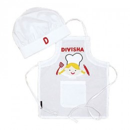 White Chef Apron Set