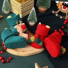 Red Nose Reindeer 3D Socks - 2 Pack