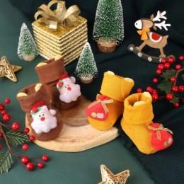 Baby Santa 3D Socks - 2 Pack