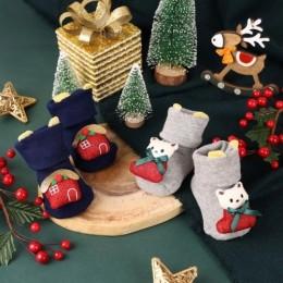 Christmas Cheer 3D Socks - 2 Pack