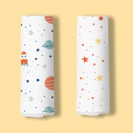 Space Explorer Organic Swaddle - 2 pack