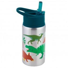 Stainless Steel Water Bottle - Dino