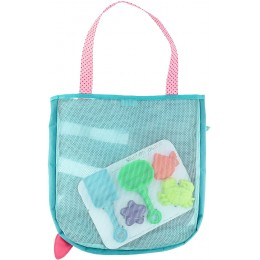 Beach Tote with Sand Toy Play Set - Mermaid