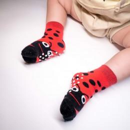 Ladybug Kids Socks